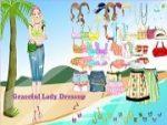 Graceful Lady Dressup