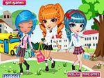 Cutie Trend School Girl Group Dress Up