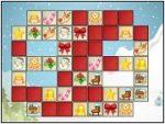 Christmas Maze Matching