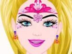 Barbie Princess Face Painting