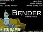 Bender from Futurama Sound Board