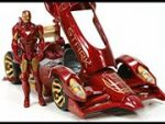Iron Man Red Beest Car Puzzle