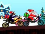 Santa Bike Racing