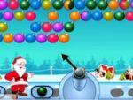 Santa Bubble Shooting