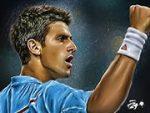 Novak Djokovic Cartoon Edition