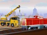 Railroad Crane Parking 2