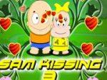 Sam kissing 3