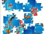 Tom and Jerry: Jigsaw Puzzle 3 in 1