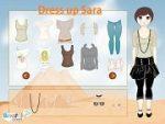 Dress up Sara in egypt
