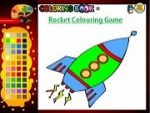 Rocket Colouring Game